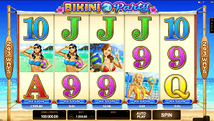 Bikini Party Slot Machine - Free to Play Online Casino Game