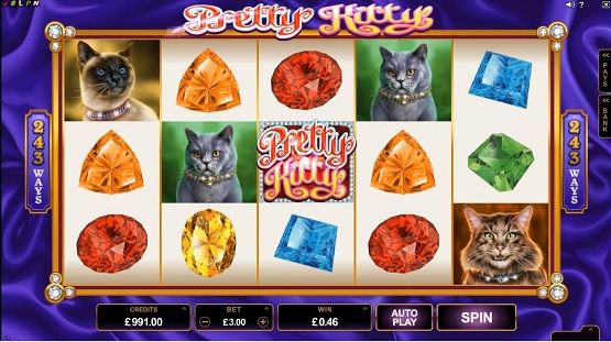 Pretty Kitty Slot Machine - Play for Free Instantly Online