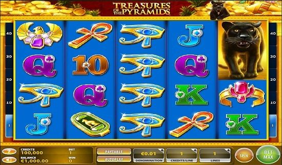 free slots pyramids