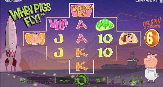 casino spielen online when pigs fly