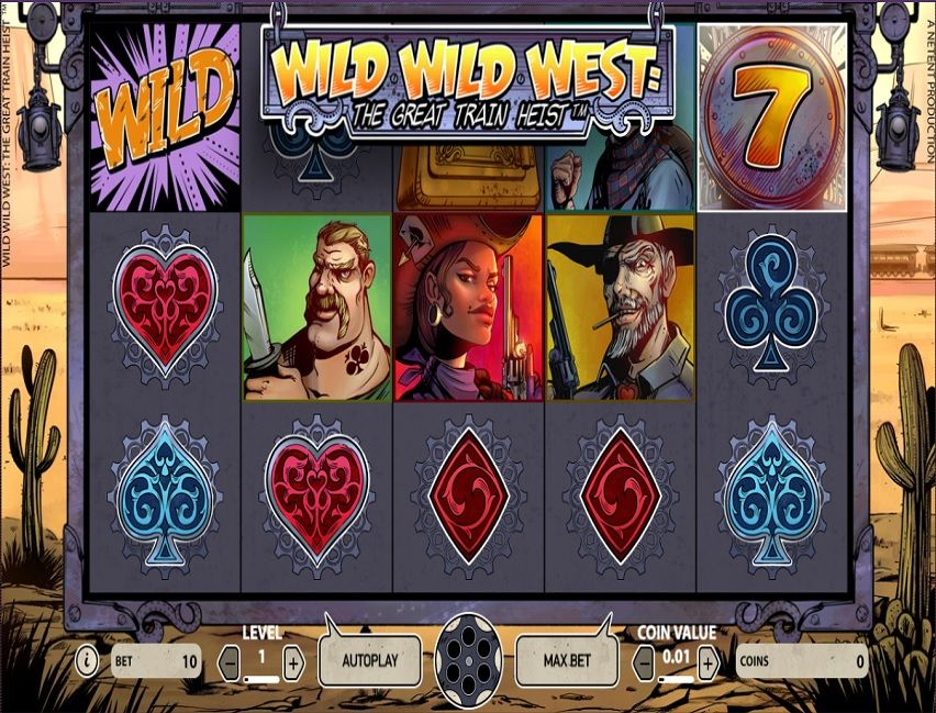 Wild Wild West Slot Machine - Play this Game for Free Online