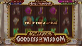 Age of the Gods: Goddess of Wisdom Slot - Play for Free Now