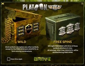 Platoon Wild Slot - Play Now for Free or Real Money