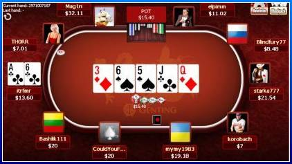 Texas holdem use both cards in hand