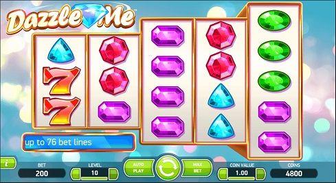 Dazzle Me - Rizk Online Casino