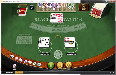 blackjack-switch