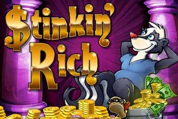 stinking rich slot logo