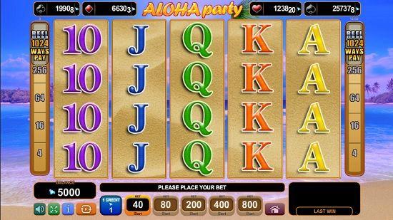 aloha party slot screenshot big