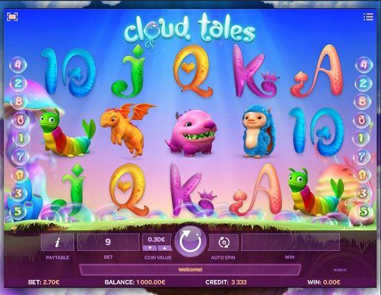 cloud tales slot screenshot big