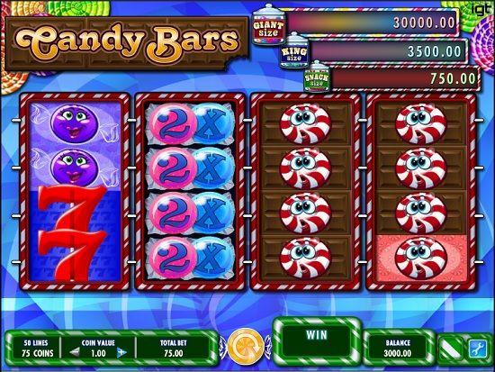 candy bars slot screenshot big