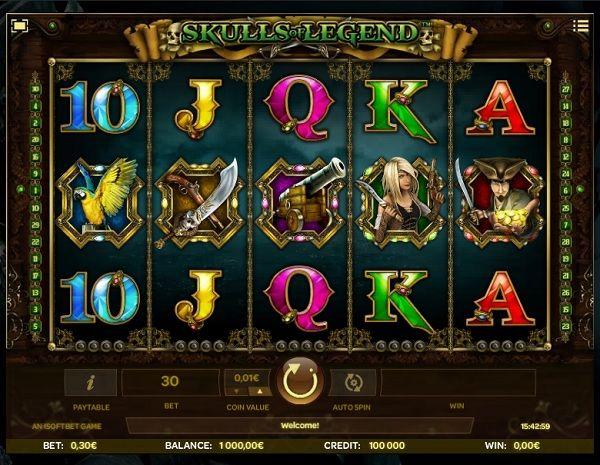 Skulls of Legend Slot screenshot big