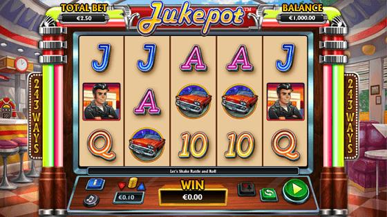 jukepot slot screenshot big