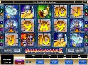 Thunderstruck Microgaming Slot