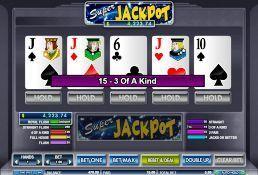 Progressive Video Poker Game
